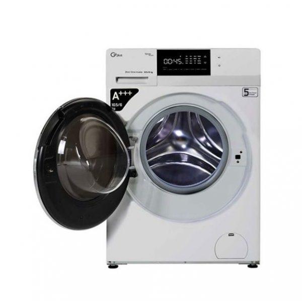 ماشین لباسشویی جی پلاس مدل KD1049S ظرفیت10.5کیلوگرم